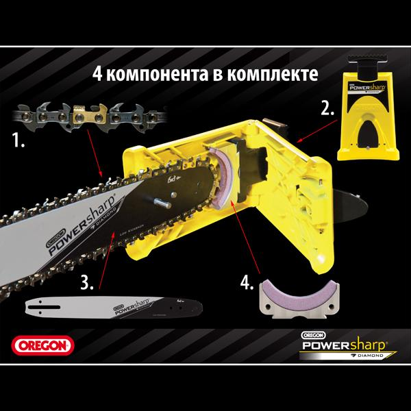 "Бензопила Oleo-Mac 937 (16"", 3/8, 1,3), PowerSharp - фото 3"