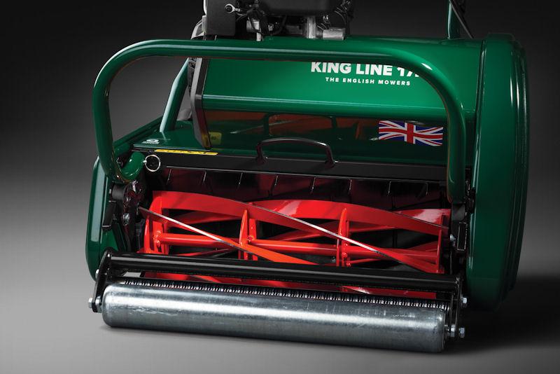 Самоходные газонокосилки барабанного типа Caiman King Line 17K/King Line 20K